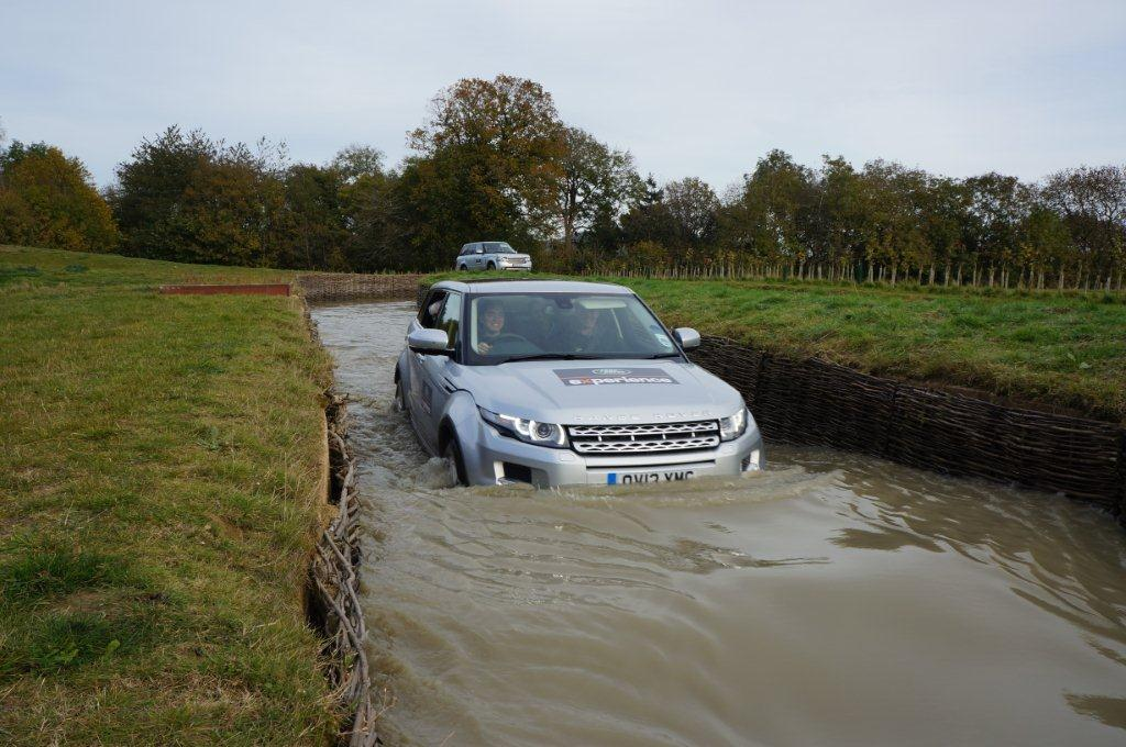 Land Rover Range Evoque Driving Experience Eastnor Castle